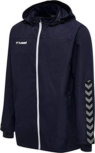 hummel Jungen hmlAUTHENTIC Kids All-Weather Jacket Jacke, Marine, 176