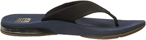 Reef Mens Fanning Low Fashion casual Flip-Flop,  Navy,  10 UK