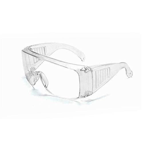 Gafas de seguridad - Gafas de seguridad Protección para los ojos Antiniebla Ventilación transparente Gafas protectoras Gafas antichoque con persianas transparentes - Transparente