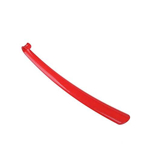 Mooyod Plastikschuh-Horn-Langer Griff-dauerhafter Schuhlöffel-Hilfsstock für Haupthotel Zufällige Farbe