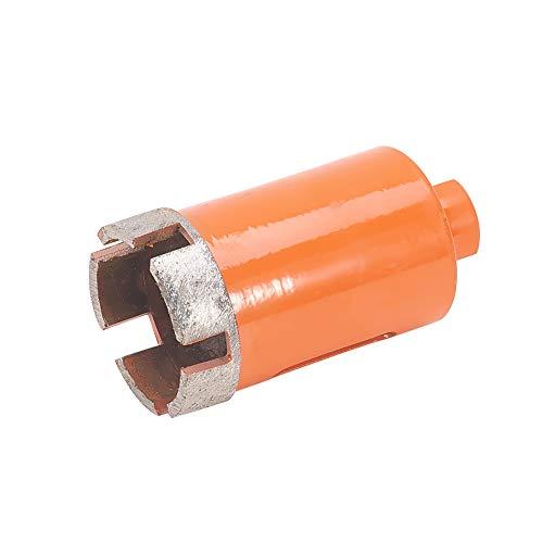 Utoolmart Diamond Drill Bit Marble Drilling Hole Opener 35mm HSS M10 Thread Hole Saw Cutter Hexagonal Shank 50mm Cutting Depth 64mm Length for Hand Electric Drill Anger Grinder