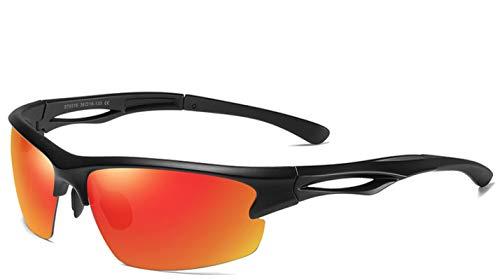 NJJX Gafas De Sol Deportivas Polarizadas De Moda Para Hombre, Gafas De Sol Para Correr, Gafas De Conducción De Caza, Gafas De Visión Nocturna Para Hombre, Sin Paquete