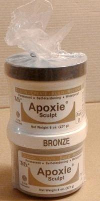 Avesstudio Apoxie Sculpt Modelliermasse - bronze ca 450gr