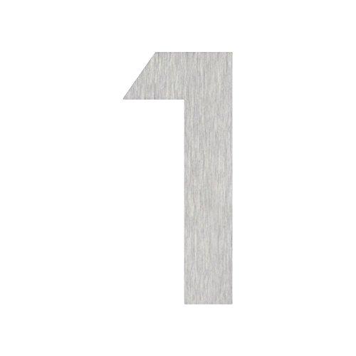Heibi Hausnummer MIDI 1 Edelstahl zum Kleben 64581-072