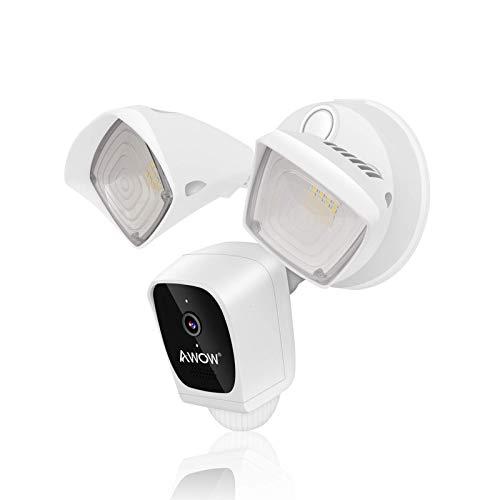 AWOW Floodlight Camera WiFi Spotlight Camera IP65...