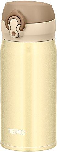 サーモス 水筒 真空断熱ケータイマグ 【ワンタッチオープンタイプ】 350ml クリーミーゴールド JNL-353 CRG