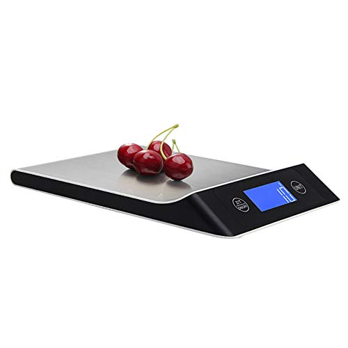 Kuizhiren1 Mini Báscula Digital, 5/10/15 kg Portátil Electrónica Cocina Precisa LCD Peso Comida Digital Báscula 10kg Type