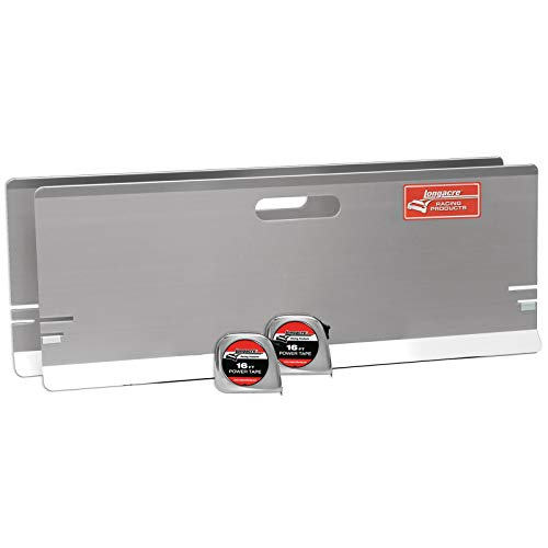 Longacre Racing 79501 Aluminum Toe-In Plates w/Magnets