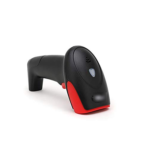 DYecHenG Scanner POS Scanner sans Fil Scanner Express Scanner Scanner Scanner Scanner Cashier sans Fil pour Codes-Barres Numériques/Imprimés (Couleur : Black, Size : 16.4x6.5x9.8cm)