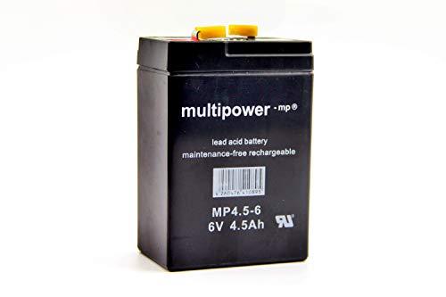 6V Vlies Batterie 5 Ah für Simson S50 S51 S70 und MZ RT 125 inkl. 7,50EUR Pfand