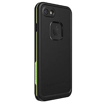 LIFEPROOF FRĒ SERIES Waterproof Case for iPhone SE  2nd gen - 2020  and iPhone 8/7  NOT PLUS  - Retail Packaging - NIGHT LITE  BLACK/LIME