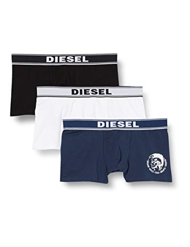 Diesel UMBX-SHAWNTHREEPACK, Calzoncillo Para Hombre, Multicolor, M, Pack De 3
