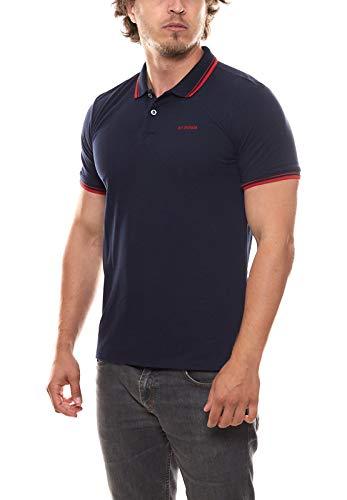 Ben Sherman Polo-Hemd angenehmes Poloshirt Herren Shirt Shortsleeve Freizeithemd Navy, Größe:XS
