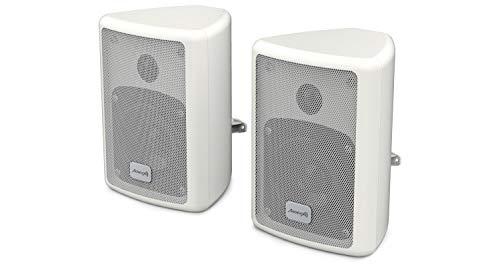 Audibax Picolo PR-41. Cassa Mensola - Casse Hi-Fi e sonorizzazione - Potenza 75 W - con Supporto per Stand - Coppia. Colore Bianco - Dimensioni: 191 x 139 x 126 mm