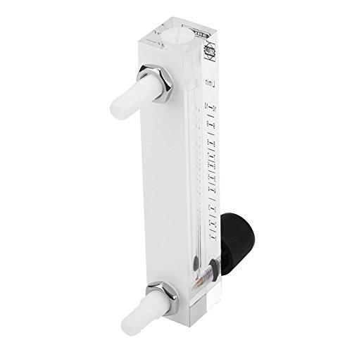 Gas Flowmeter,LZQ-7 Flowmeter 1-10LPM Flow Meter with Control Valve for Oxygen/Air/Gas