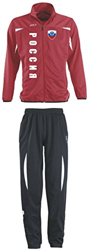 Aprom-Sports Russland Trainingsanzug - Sportanzug - S-XXL - Fußball Fitness (XXL) (XL)