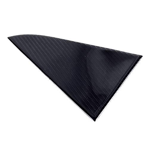 XIANGBAO QI Fibra de Carbono de Coches Ventana indiscreta Triángulo Panel de Revestimiento de la Cubierta Apta for Chevrolet Cruze 2009 2010 2011 2012 2013 2014 2015