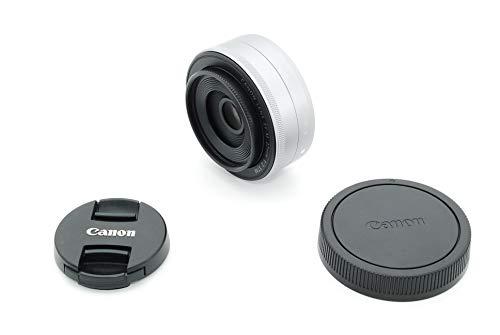 Canon 単焦点広角レンズ EF-M22mm F2 STM シルバー ミラーレス一眼対応 EF-M222STMSL