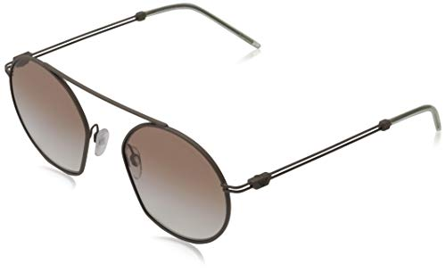 Emporio Armani 0EA2078 Gafas de sol, Matte Dove, 50 para Hombre