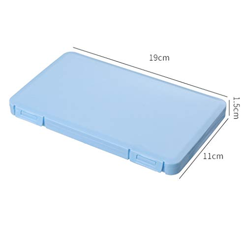 Reusable FaceMasks Storage Box Container,Portable Face Keeper Organizer Storage Box Pollution Prevention 6