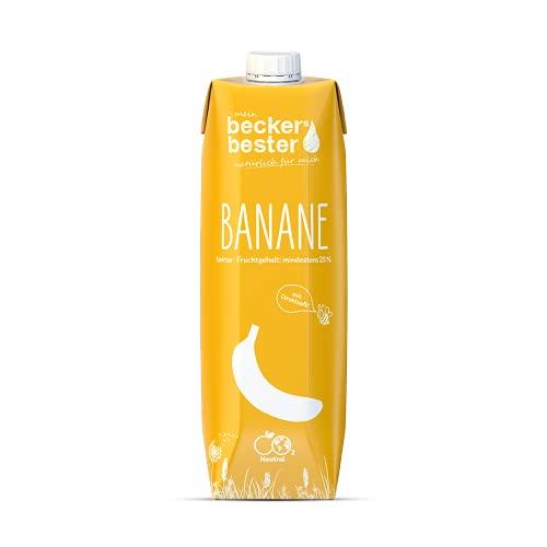 beckers bester bester Bananen-Nektar Tetrapak EW, 1 ltr (6er Pack)
