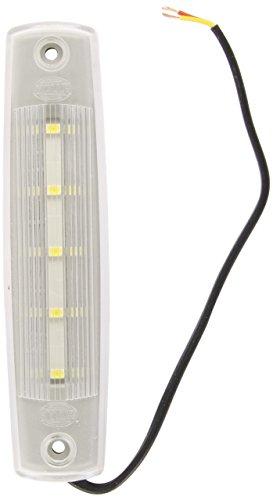 HELLA 2JA 343 660-101 Éclairage intérieur - Mini ThinLED - LED - 12V - LED - Montage encastré - Couleur du voyant: limpide - Couleur LED: blanc