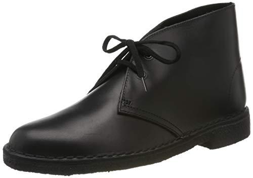 Clarks Damen Desert Boots, Schwarz (Black Polished), 36 EU