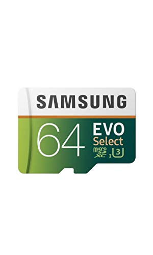 Samsung 64GB 80MB/s EVO Select Micro SDXC Memory Card (MB-ME64DA/AM)