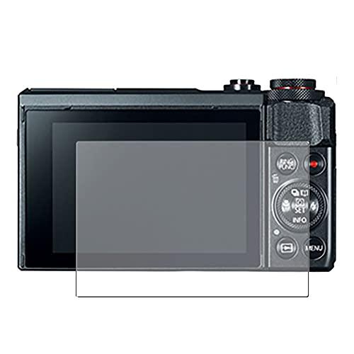 Vaxson Anti Spy Schutzfolie, kompatibel mit Canon PowerShot G7 X Mark II / G7X Mark 2, Displayschutzfolie Privatsphäre Schützen [nicht Panzerglas]