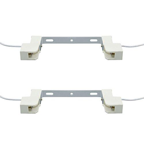 Bonlux R7s Adapter LED Lampensockel 118mm j118 Universal Anpassung Sockel Lampenfassung Konverter 2-Stück