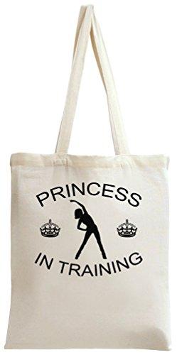 Princess In Training Slogan Tote Bag