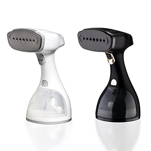 LEBENLANG Steamer Dampfglätter ( 1500W, 300ml, Quick & Go Automatik ) LCD Hand Dampfbürste Dampfglätter Kleidung & Hemden bügeln - Dampfbügler Reise Bügeleisen Dampf Bügel - Steam Iron Bügelmaschine