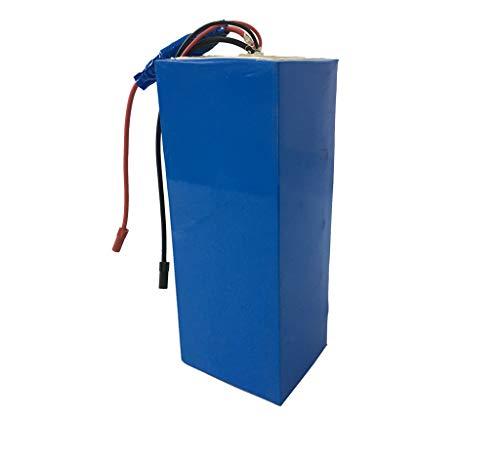 NBPOWER 72V 26,1AH NCR18650PF Elektro-Fahrrad-Lithium-Batterie mit passendem 5A Ladegerät, Ebike Lithium-Batterie-Set für .3000W oder 5000W E-Bike Motor, E-Bike Kit.
