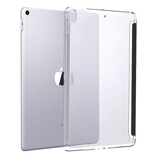 ESR Clear Case for iPad Air 3 / iPad Pro 10.5 Rear Case, [Fits with Smart Keyboard and Smart Cover] Slim Fit Back Shell Cover Yippee Hard Shell Cover for iPad Air 3 2019 / iPad Pro 10.5 2017,Gray