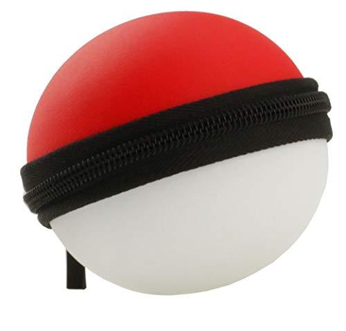Navitech Étui de protection noir ajusté Pokeball Plus avec mousqueton (Nintendo Switch)