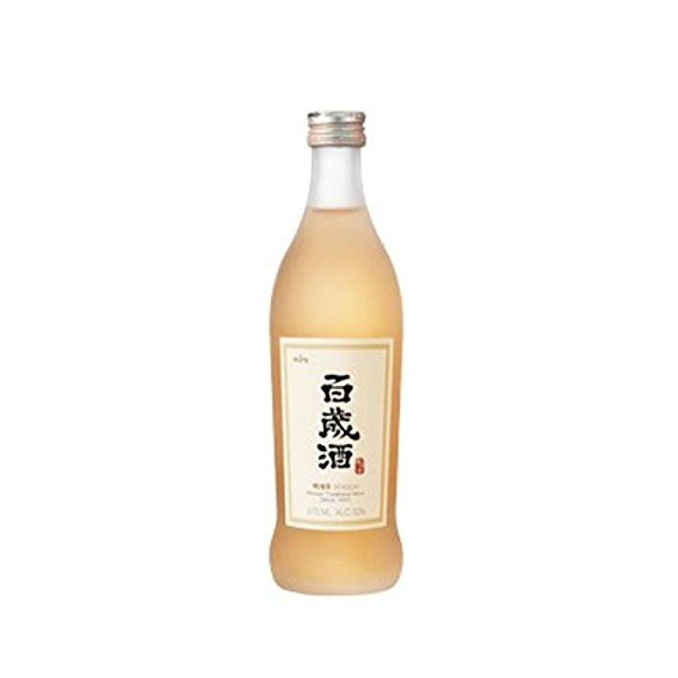 マイル呼び出す白雪姫韓国ハーブ酒?百歳酒 375ml×4本