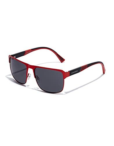 HAWKERS REETZY Gafas de Sol, Red Dark, Talla única Unisex Adulto