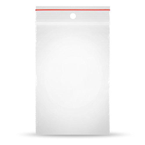 Polybeutel 500 x Druckverschlussbeutel 60 x 80 mmPREMIUMQUALITÄT - Druckverschluss Verschluss Beutel Verpackungsbeutel Verpackung Plastikbeutel, transparent, Z-55-2
