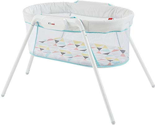 Fisher-Price Stow 'n Go Bassinet for camping