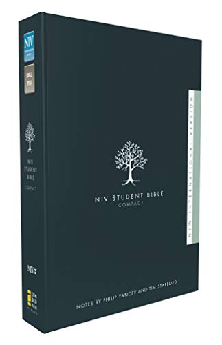 Compare Textbook Prices for NIV, Student Bible, Compact, Hardcover Compact Edition ISBN 9780310437147 by Zondervan,Yancey, Philip,Stafford, Tim