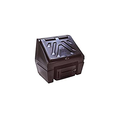 Titan Coal Bunker 3 Bag 150kg Capacity in Black