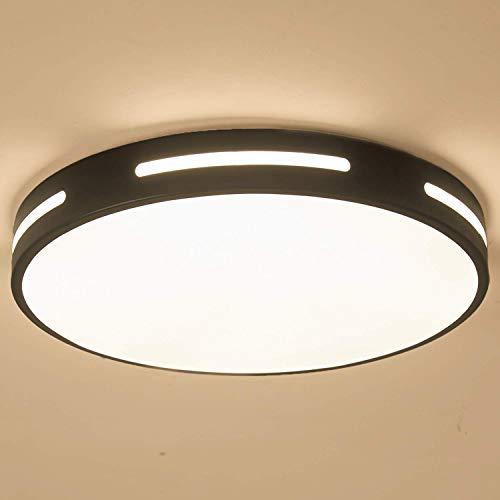 Kimjo Plafon LED de Techo 30W Luz Cálido, LED Lámpara de Techo...