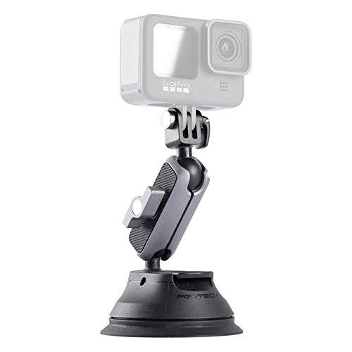 PGYTECH Mount Saugstativ für Gopro 9, Gopro 8, Gopro MAX, DJI OSMO Action, OSMO Pocket, Insta360 ONE X, ONE R, ONE, Action-Kameras