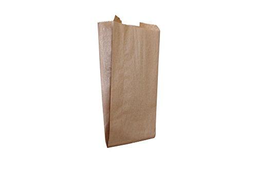 Carte Dozio S.r.l. - Sacchetti in carta Sealing Avana senza manici idonei al contatto alimentare - f.to cm 15x35+10-100 pz a conf.