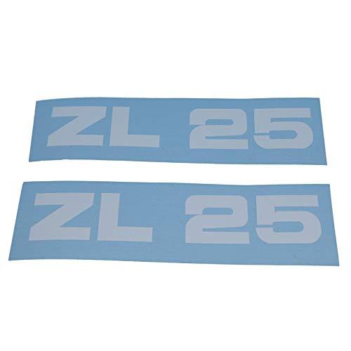 Zündapp ZL 25 Schriftzug Trittbrett Aufkleber, Ersatzteil Sticker Verkleidungs Schriftzug Dekor. Zum Oldtimer Restaurieren von Lack und Verkleidung. Alternativ zum Motorrad Emblem