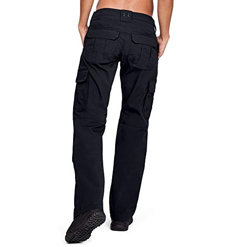 Under Armour Women's Tactical Patrol Pants II, Black (001)/Black, 0