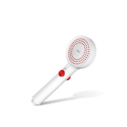 GUONING-L Ducha, cabezal de ducha de color, a presión grande de agua de alta presión portátil de una sola cabeza, Baño Casa (Color: Rojo) Baño