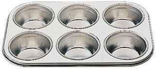 WIN-WARE Aluminum 6 price Cup Deep Muffin Pan. Tray Aluminium In stock muffin
