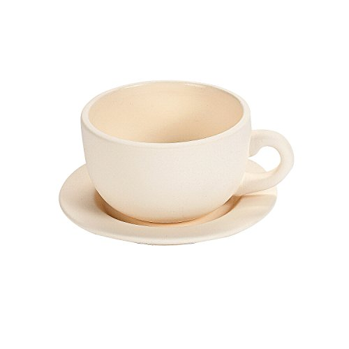 Price comparison product image Do It Yourself Ceramic Tea Cup Planter - Crafts for Kids and Fun Home Activities
