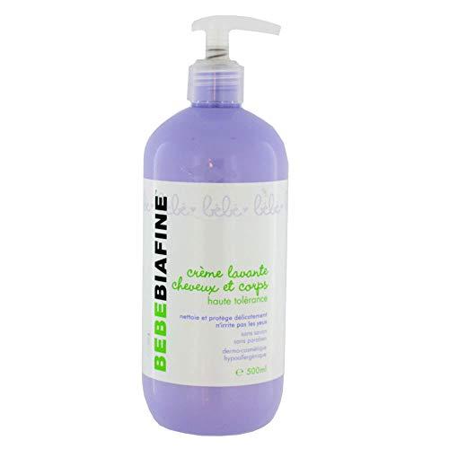 Cicabiafine - Creme Lavante Cheveux Et Corps Bebebiafine 500ml